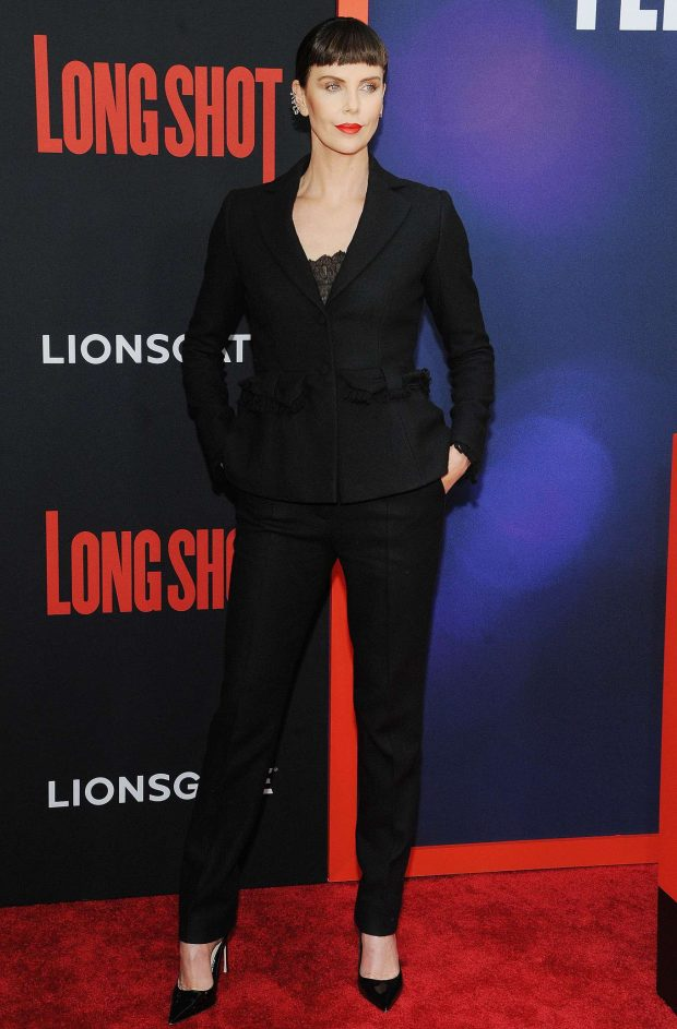 Charlize Theron: Long Shot Premiere in New York -01
