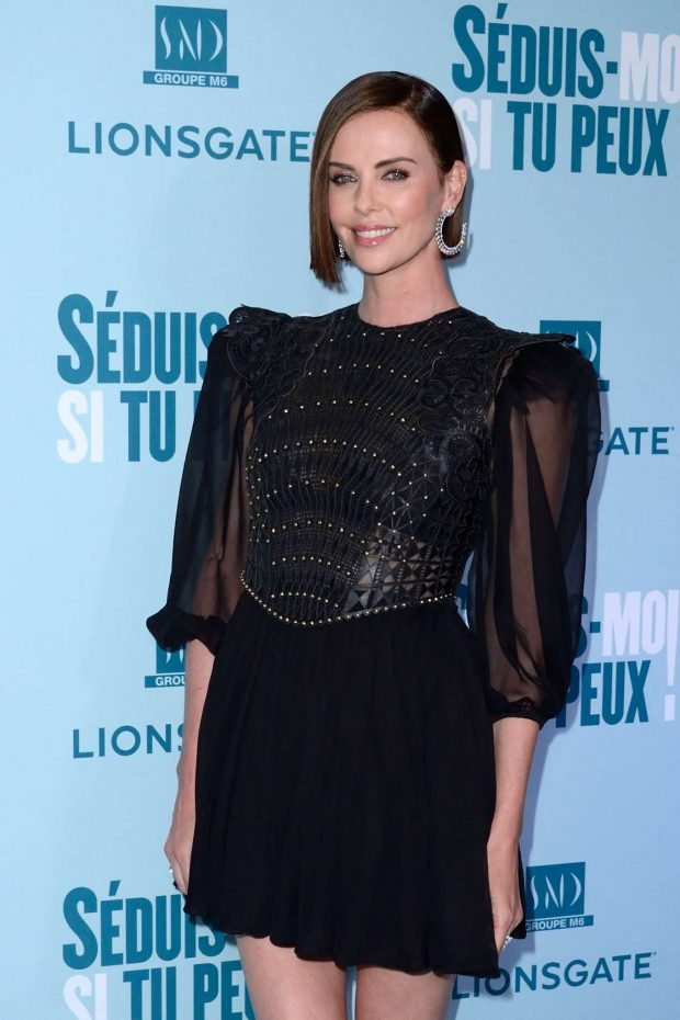 Charlize Theron - 'Long Shot' Premiere in Paris