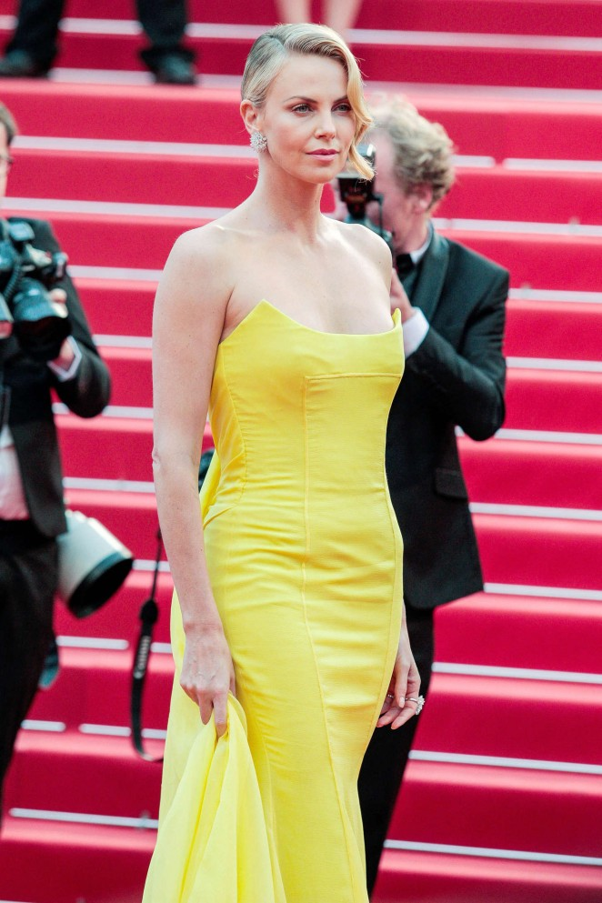 Charlize Theron - 'Mad Max: Fury Road' Premiere in Cannes