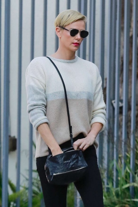 Charlize Theron 2020 : Charlize Theron – Makes a solo trip to a furniture store in Los Angeles-15