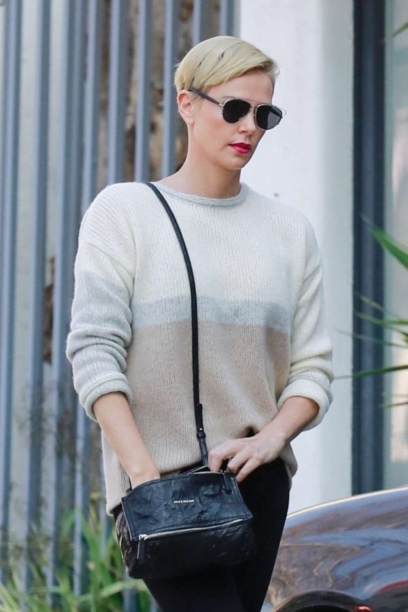 Charlize Theron 2020 : Charlize Theron – Makes a solo trip to a furniture store in Los Angeles-16