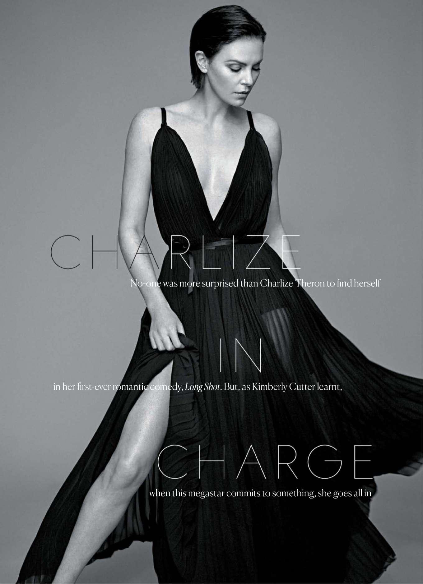 Charlize Theron - Marie Claire Australia Magazine (July 2019)