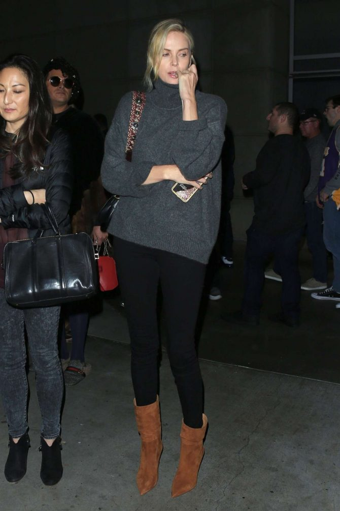 Charlize Theron: Night out in Los Angeles -06