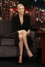 Charlize Theron - On Jimmy Kimmel Live! in Hollywood