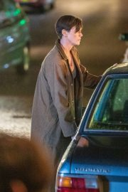 Charlize Theron - on the set of 'The Old Guard' in Sandwich