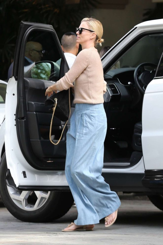 Charlize Theron - Out and about in Beverly Hills