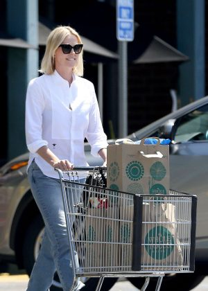 Charlize Theron - Out Shopping in Beverly Hills