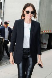 Charlize Theron - Promoting 'Long Shot' in New York
