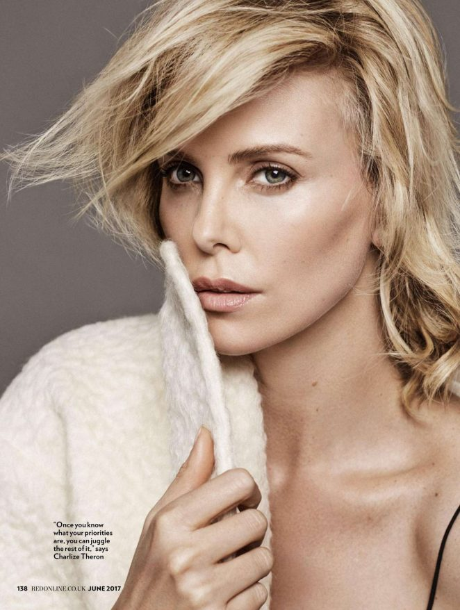 Charlize Theron - Red UK Magazine (June 2017)