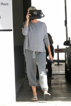 Charlize Theron - Running errands in Beverly Hills