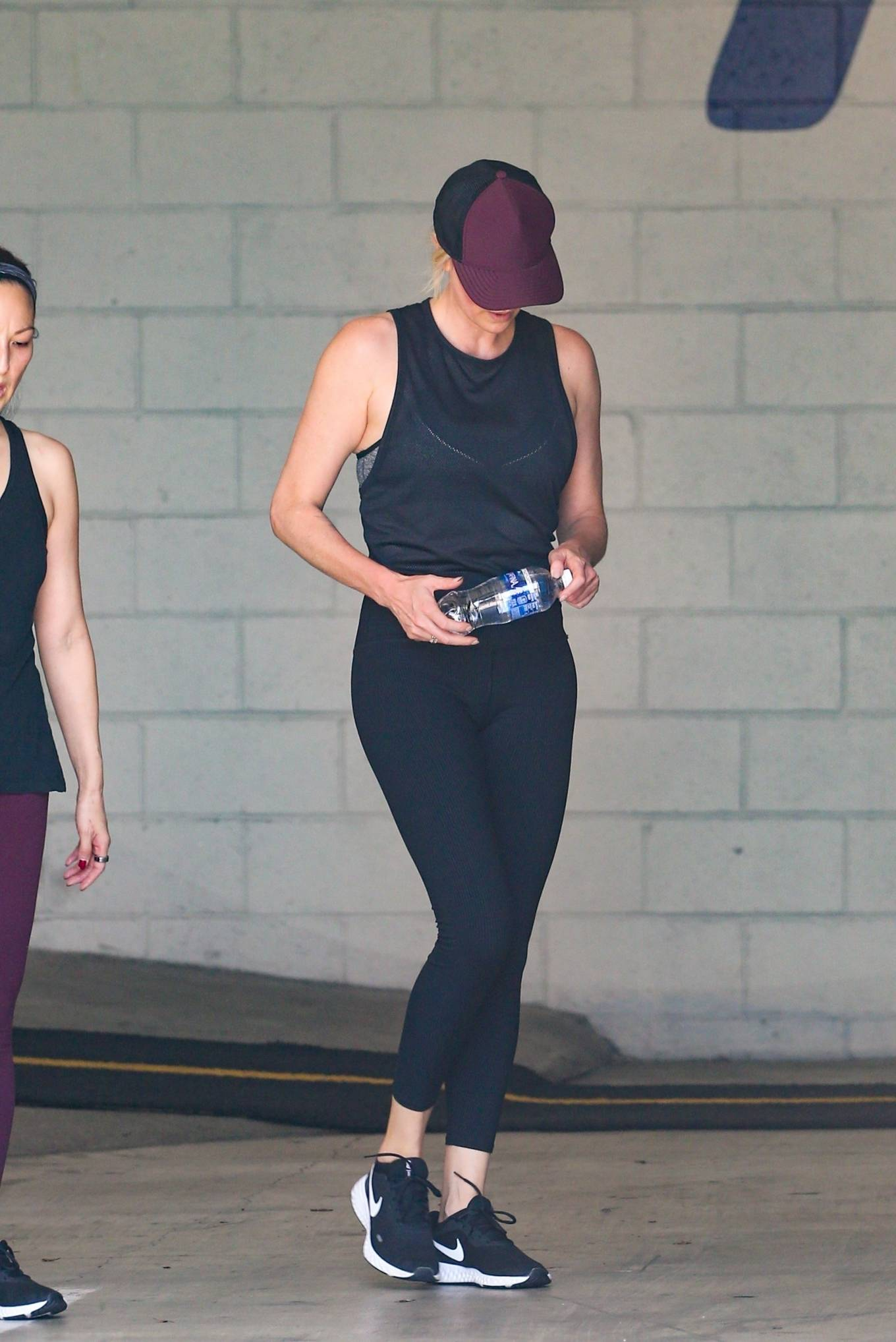 Charlize Theron - Seen after gym session in Los Angeles
