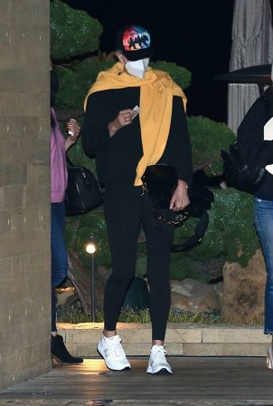 Charlize Theron - Seen leaving dinner with friends at Nobu in Malibu