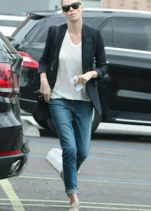 Charlize Theron in Tight Jeans out in West Hollywood