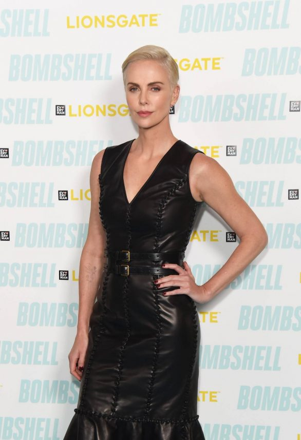 Charlize Theron - Special BAFTA Q&A for 'Bombshell' in London