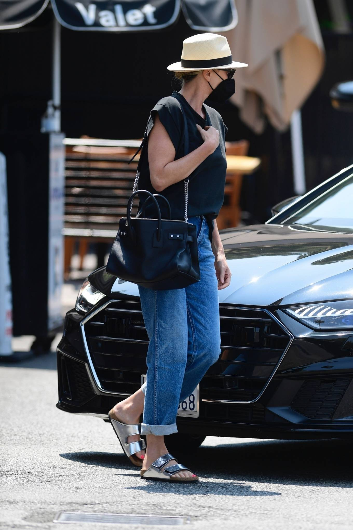 Charlize Theron - Steps out in Los Angeles