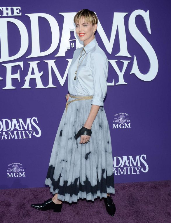 Charlize Theron - 'The Addams Family' Premiere in Los Angeles