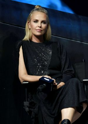 Charlize Theron - The Fate of the Furious Press Conference in Beijing