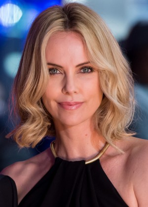 """Charlize Theron - """"The Gunman"""" Premiere in London"""