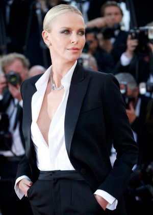 Charlize Theron - 'The Last Face' Premeire at 2016 Cannes Film Festival