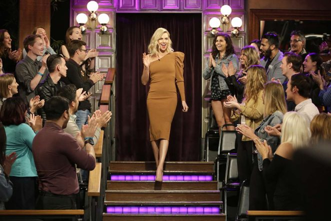 Charlize Theron - 'The Late Late Show with James Corden' in LA