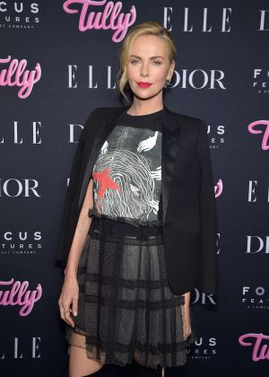 Charlize Theron - 'Tully' Screening in New York