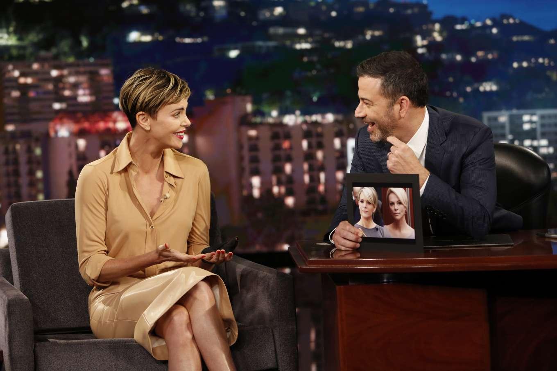 Charlize Theron 2019 : Charlize Theron – Visits Jimmy Kimmel Live-05