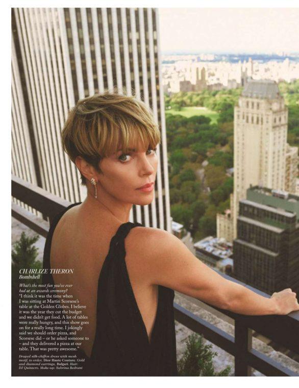 Charlize Theron - Vogue Magazine UK - February 2020