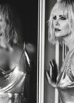 Charlize Theron - W Magazine (August 2017)