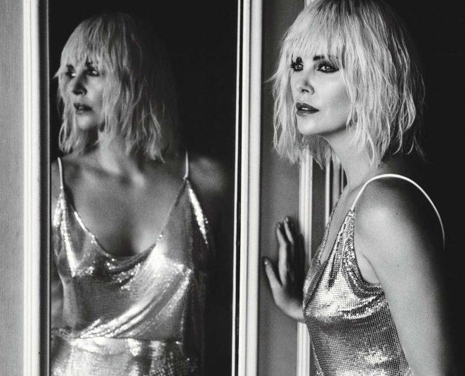Charlize Theron: W Magazine 2017 -02