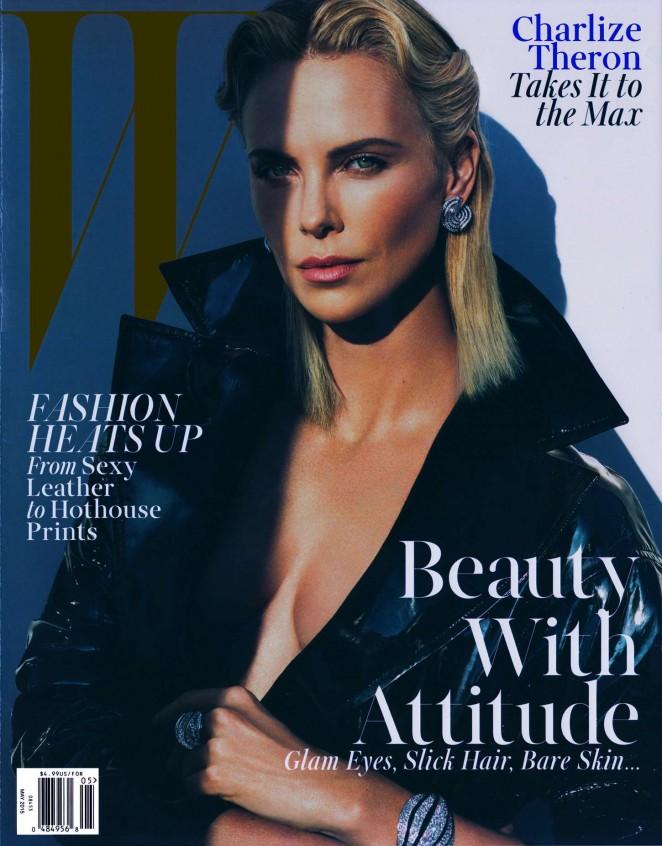 Charlize Theron - W Magazine (May 2015)