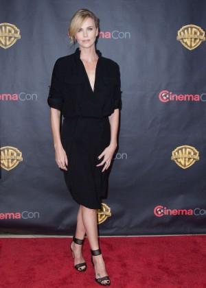 Charlize Theron: WB 2015 Cinemacon Press Line -06