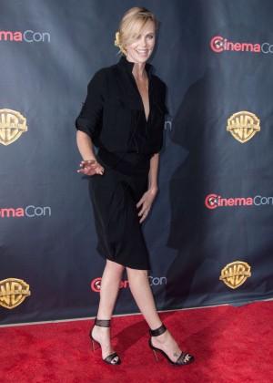 Charlize Theron: WB 2015 Cinemacon Press Line -12