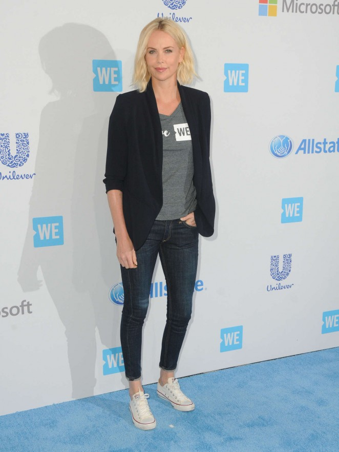 Charlize Theron - WeDay California at The Forum in Inglewood