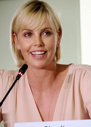 Charlize Theron - World AIDS Conference Press Conference in Durban