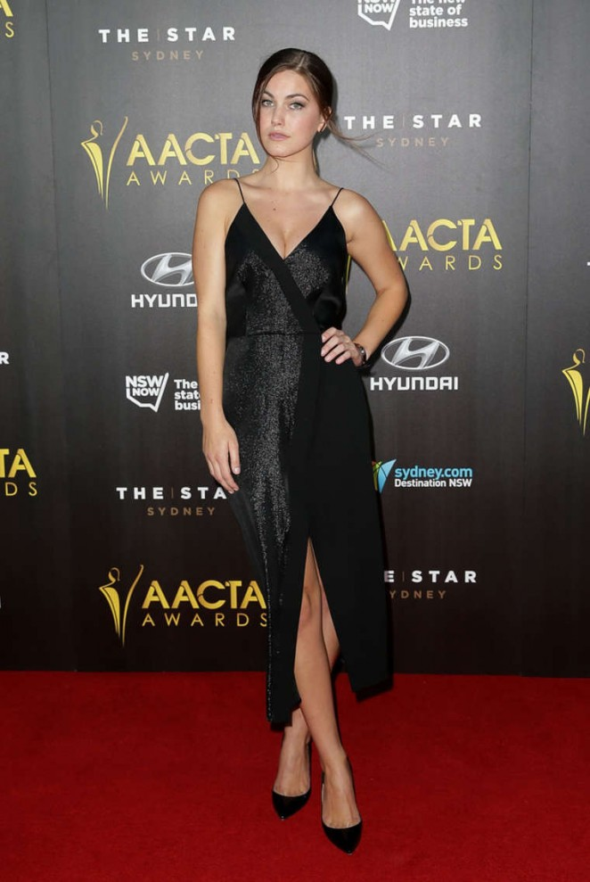 Charlotte Best - 2015 AACTA Awards Ceremony in Sydney
