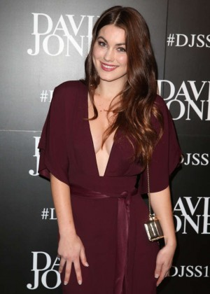 Charlotte Best - David Jones S/S 2015 Fashion Launch in Sydney
