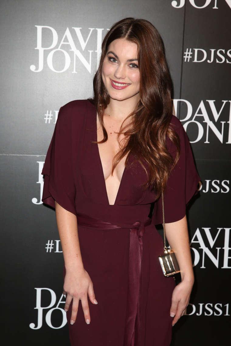 Charlotte Best - David Jones S/S 2015 Fashion Launch in Sydney