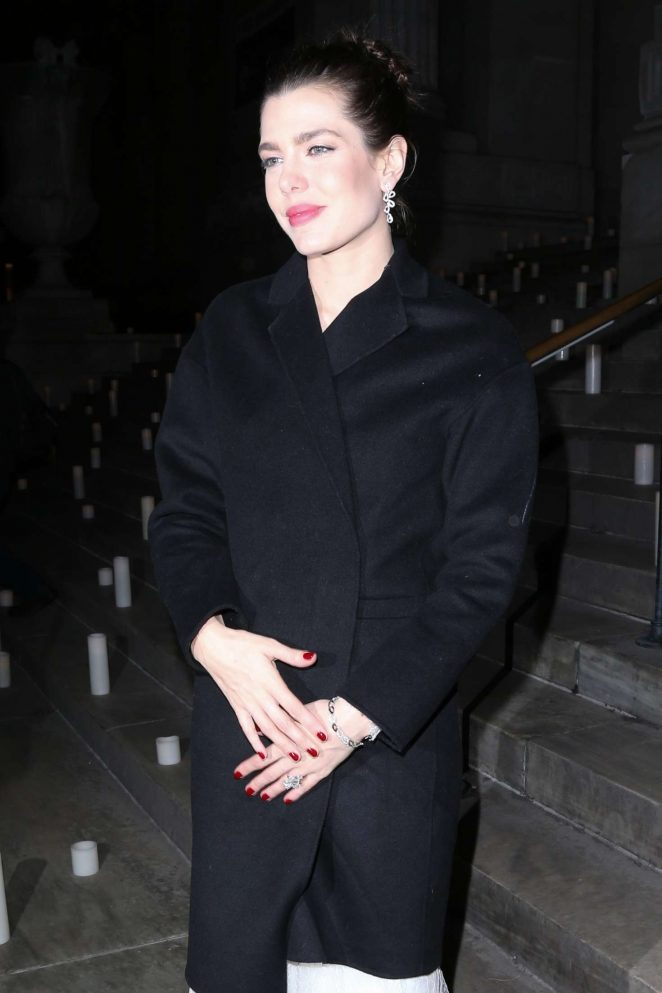 Charlotte Casiraghi Arrives at Montblanc Pens A New Chapter With UNICEF in NY