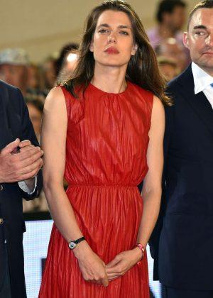 Charlotte Casiraghi - Grand Prix du Prince de Monaco 2016 Awards Ceremony in Monaco