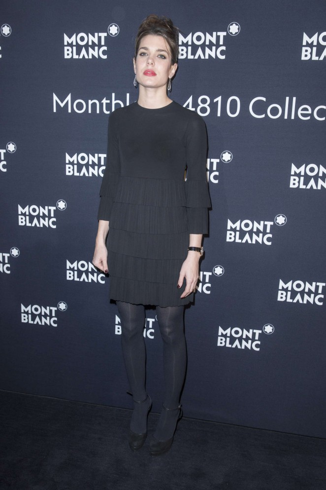 Charlotte Casiraghi – Montblanc dinner as part of SIHH in Geneva