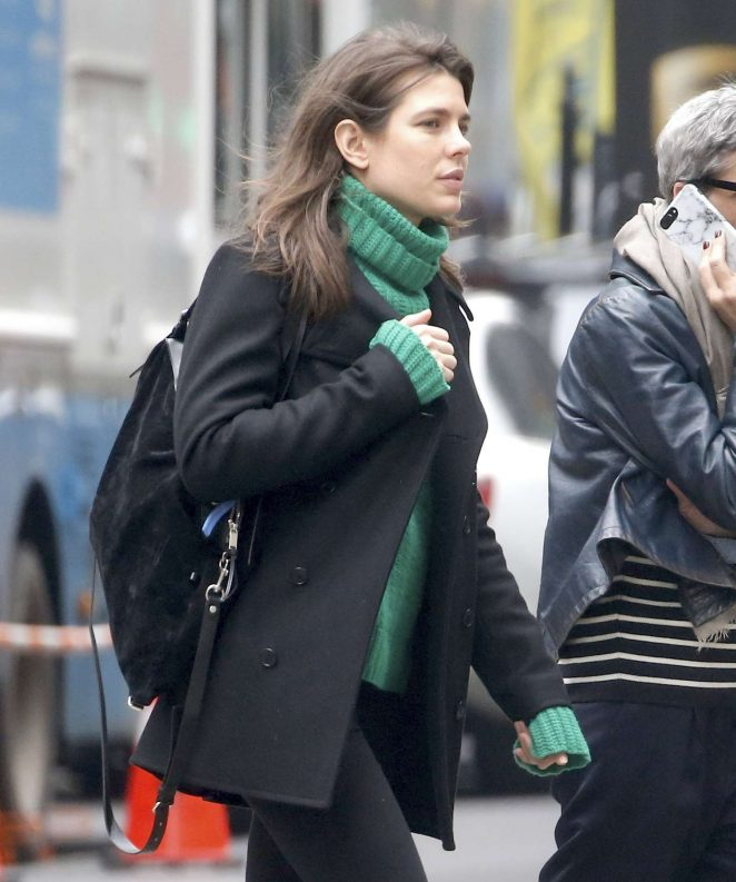 Charlotte Casiraghi – Shopping in New York City