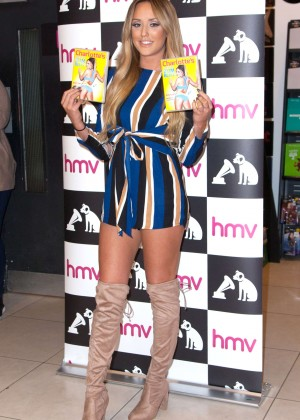 Charlotte Crosby - 3 Minute Bum Blitz DVD Signing at HMV in Manchester
