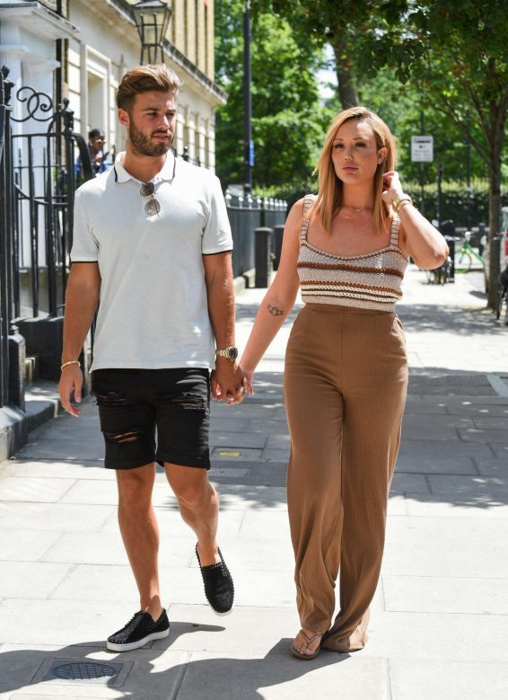 Charlotte Crosby and Joshua Ritchie - Out in London