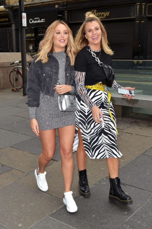 Charlotte Crosby and Lauren Causer - Out in Newcastle