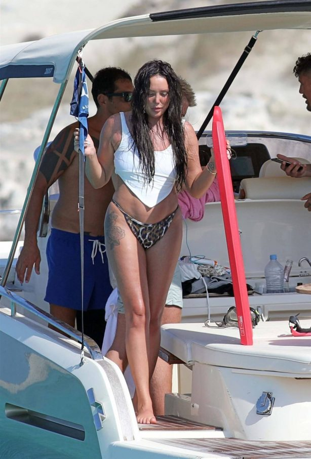 Charlotte Crosby - Bikini candids in Formentera - Spain