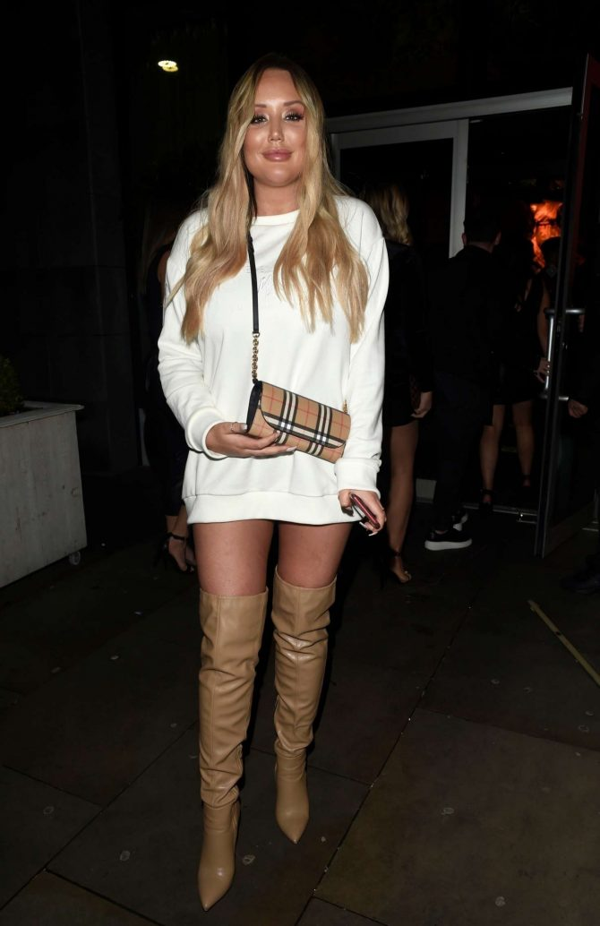 Charlotte Crosby - Boxing Night in Manchester