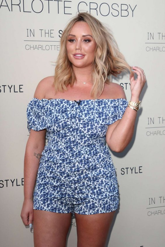 Charlotte Crosby - In The Style Launch Party in London