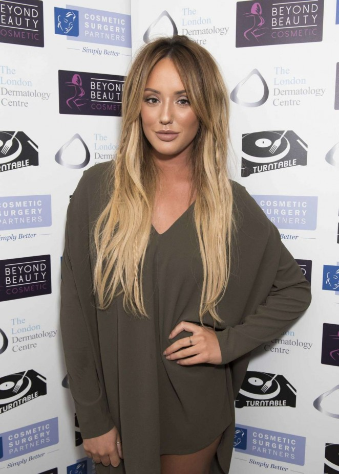 Charlotte Crosby - Misfits Management and Bold Management Christmas Party in London
