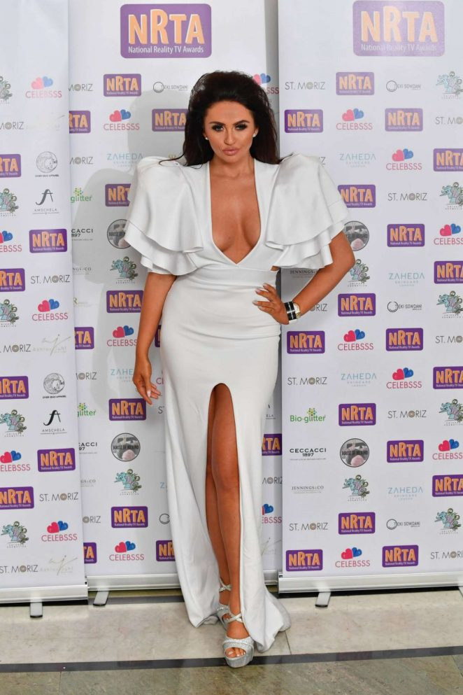 Charlotte Dawson – 2018 National Reality TV Awards in London