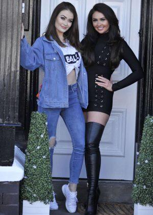 Charlotte Dawson and Jess Impiazzi - Charlotte's Makeup Masterclass in Blackpool